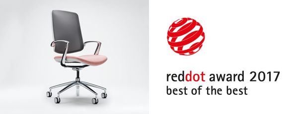 Trinetic wins the 2017 red dot best of the best for Red chair design jackson wy