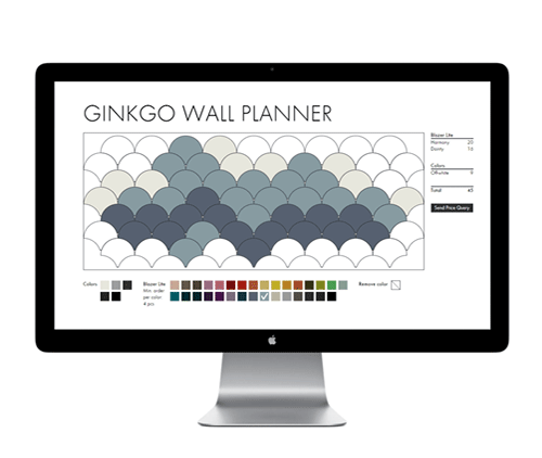 Ginkgo Wall Planner Tool