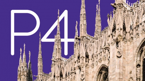 Team P4 Out and About in Milan